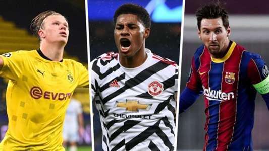 Top Skor Liga Champions 2020/21: Tiga Pemain Duduk Di