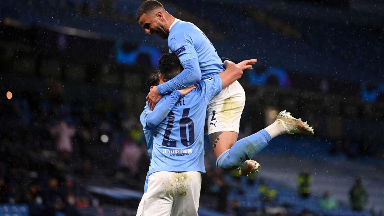 Manchester City PSG Champions League 2020-21