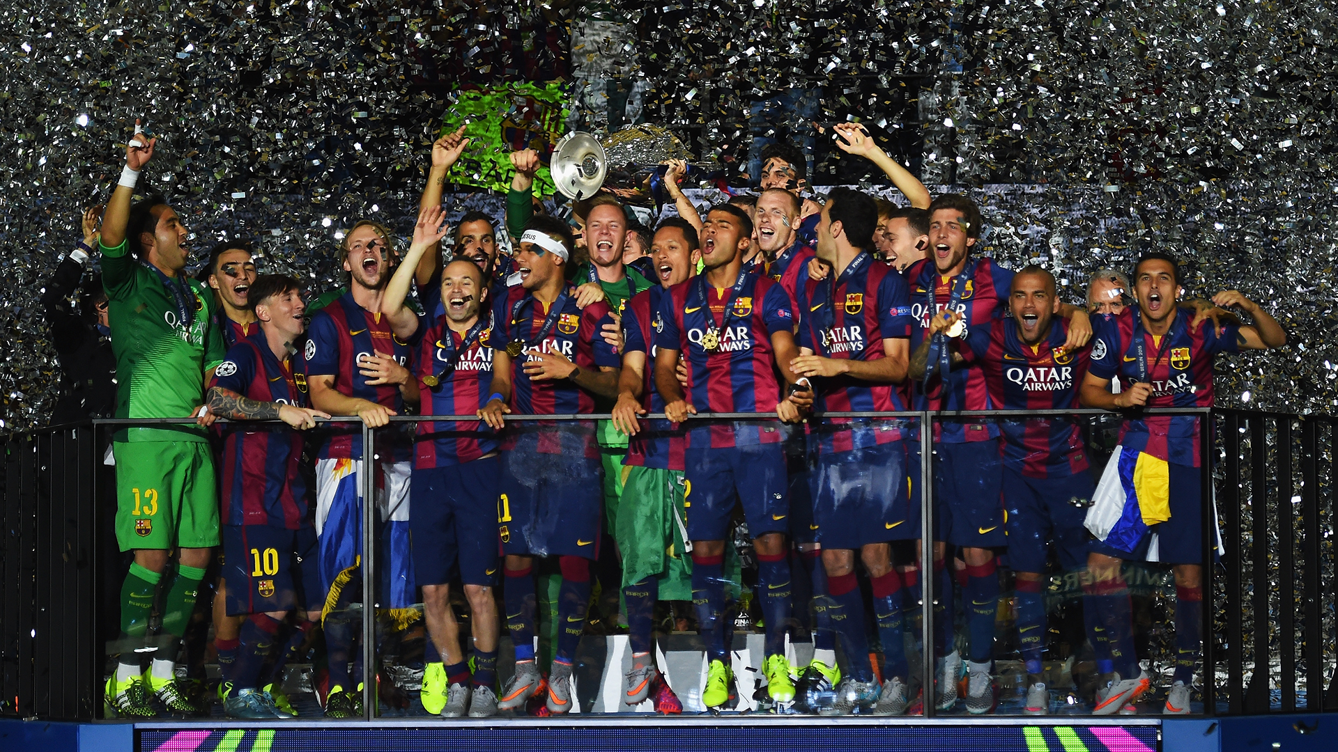 Barca Were Like Muhammad Ali In 2015 Champions League Final Alves Goal Com