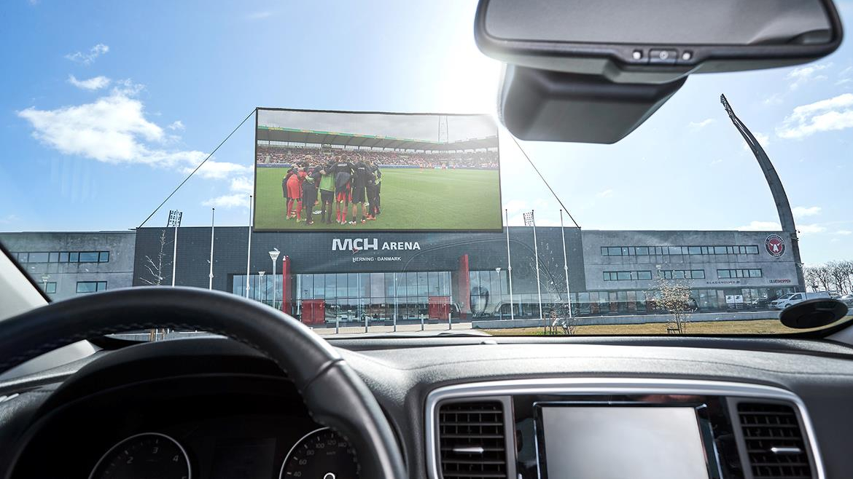 'Drive-in football!'- Midtjylland planning unique fan experience for return after coronavirus break