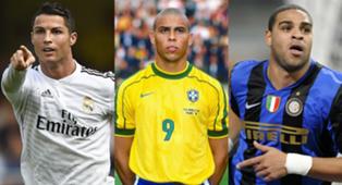 Ronaldo Cristiano Ronaldo Adriano