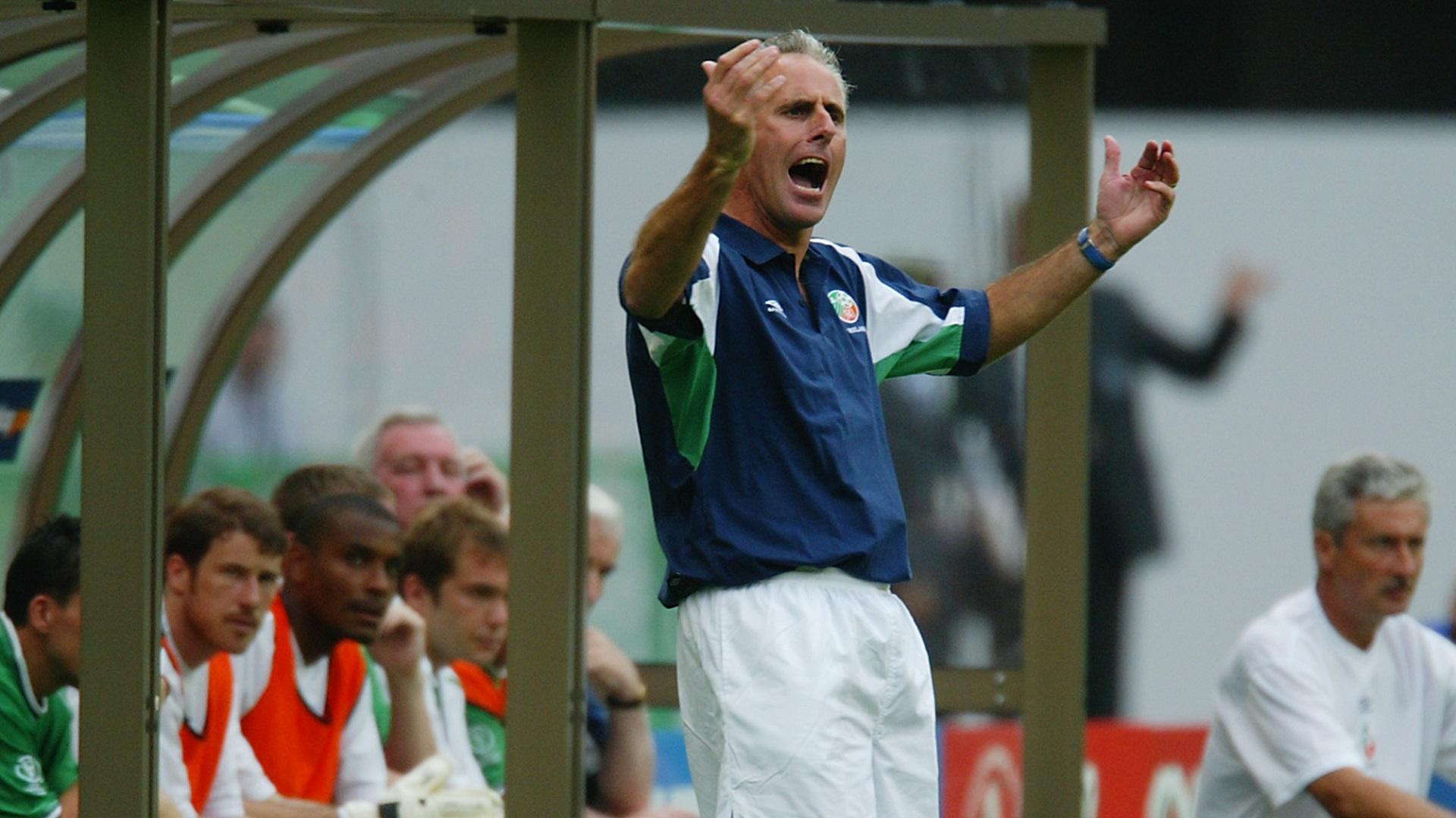 Mick McCarthy 2002 World Cup