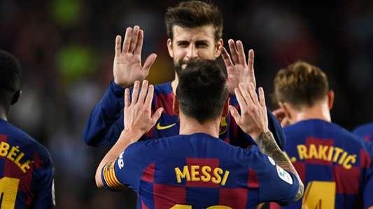 Pique hy vọng lôi kéo Messi ở lại Barca