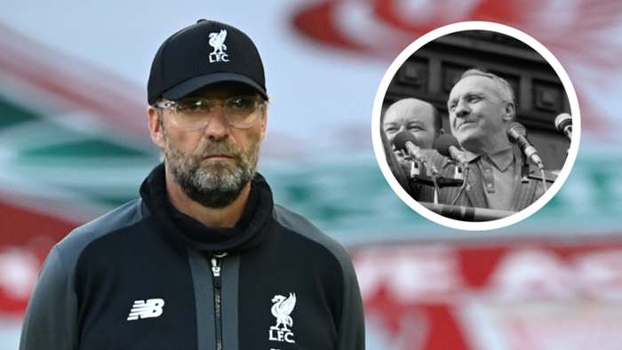 Klopp Shankly Liverpool