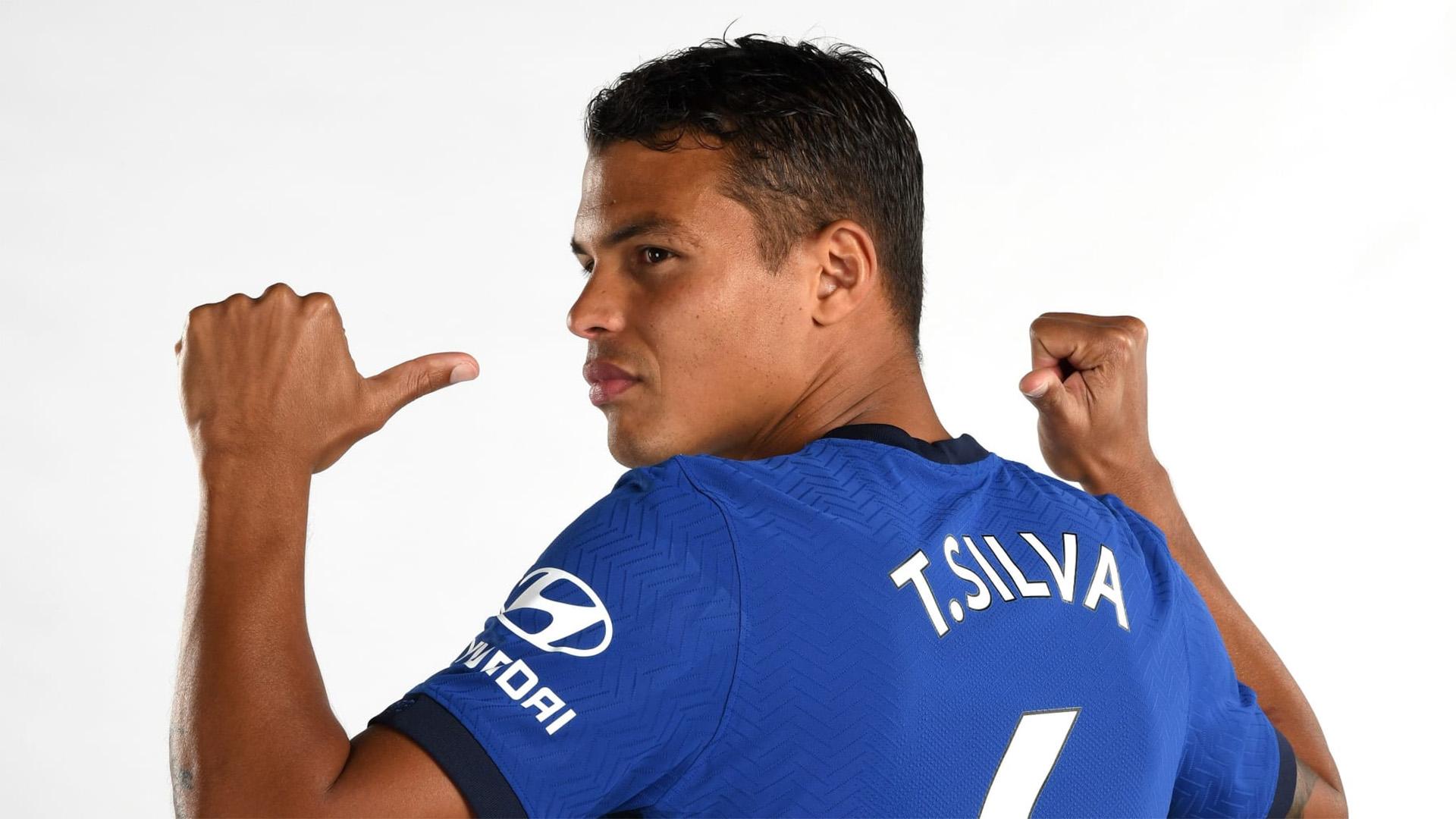 """Thiago Silva: """"Je pourrais rester à Chelsea plus d'un an"""""""
