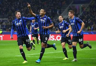 Luis Muriel Atalanta Dinamo Zagreb UEFA Champions League 11/26/19