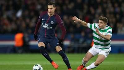 Julian Draxler PSG Celtic Champions League 22112017