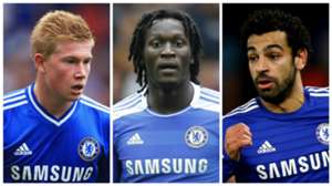 Kevin De Bruyne Romelu Lukaku Mohamed Salah Chelsea