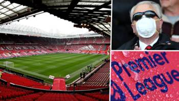 Premier League coronavirus Old Trafford