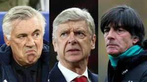 Carlo Ancelotti Arsene Wenger Joachim Low Arsenal