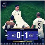 GFX - Mesir vs. Uruguay