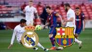 Real Madrid FC Barcelona Clasico 2021 LaLiga Santander TV LIVE-STREAM heute GFX