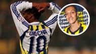 Jay-Jay Okocha Mesut Ozil GFX