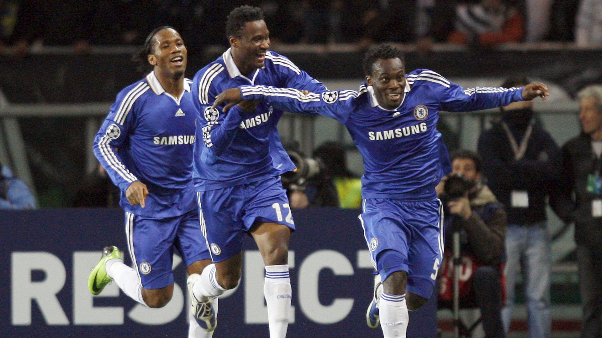 Top Six: John Obi Mikel's greatest African teammates