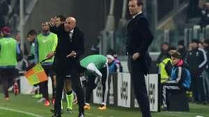 Luciano Spalletti Massimiliano Allegri Juventus Roma