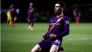 Phil Foden Manchester City League Cup 25092018