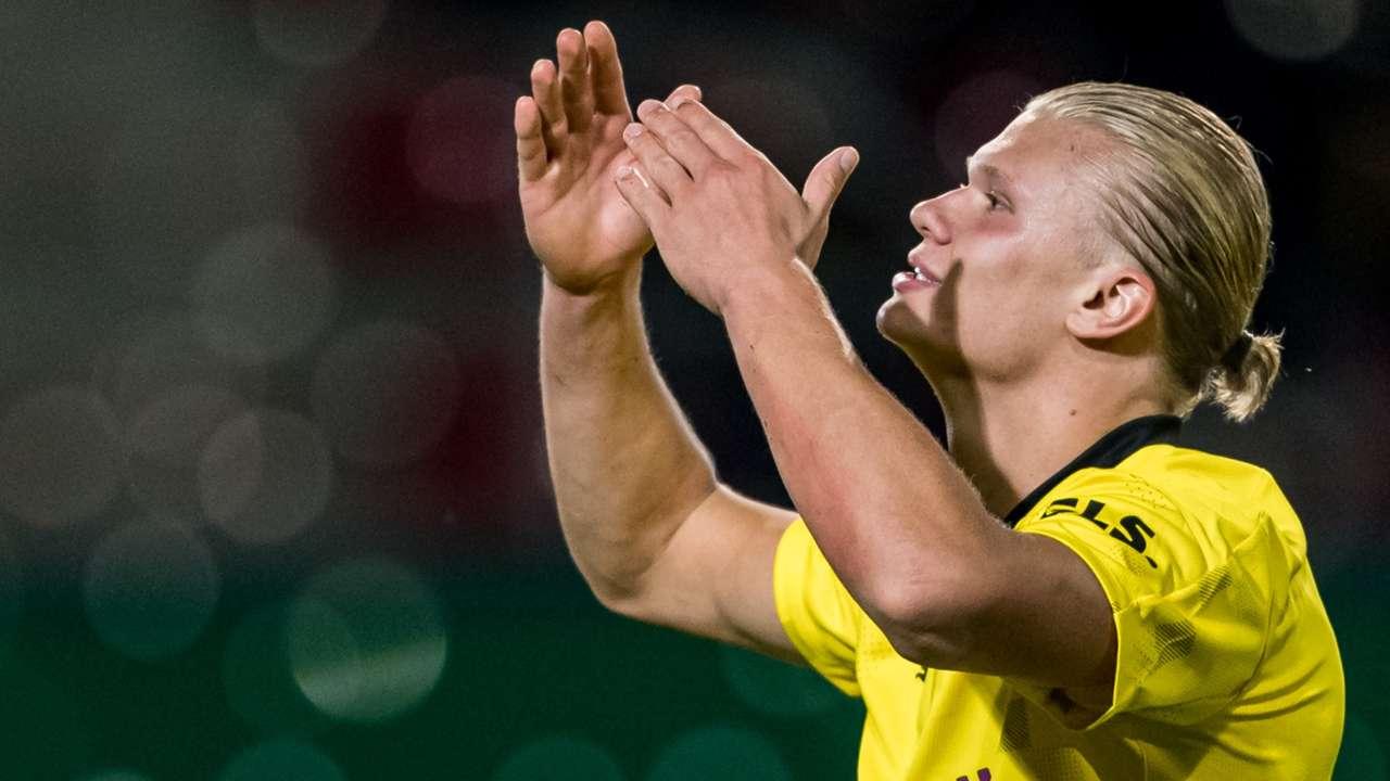 Erling Haaland Borussia Dortmund 2021-22
