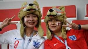美女サポワールドカップ_コロンビアvsイングランド_イングランド1