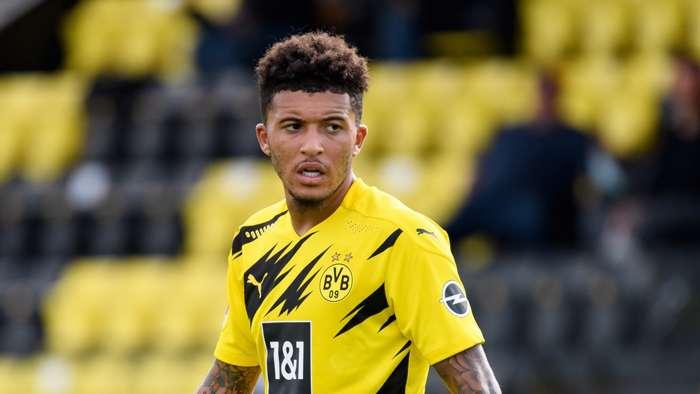 Jadon Sancho Borussia Dortmund 2020-21