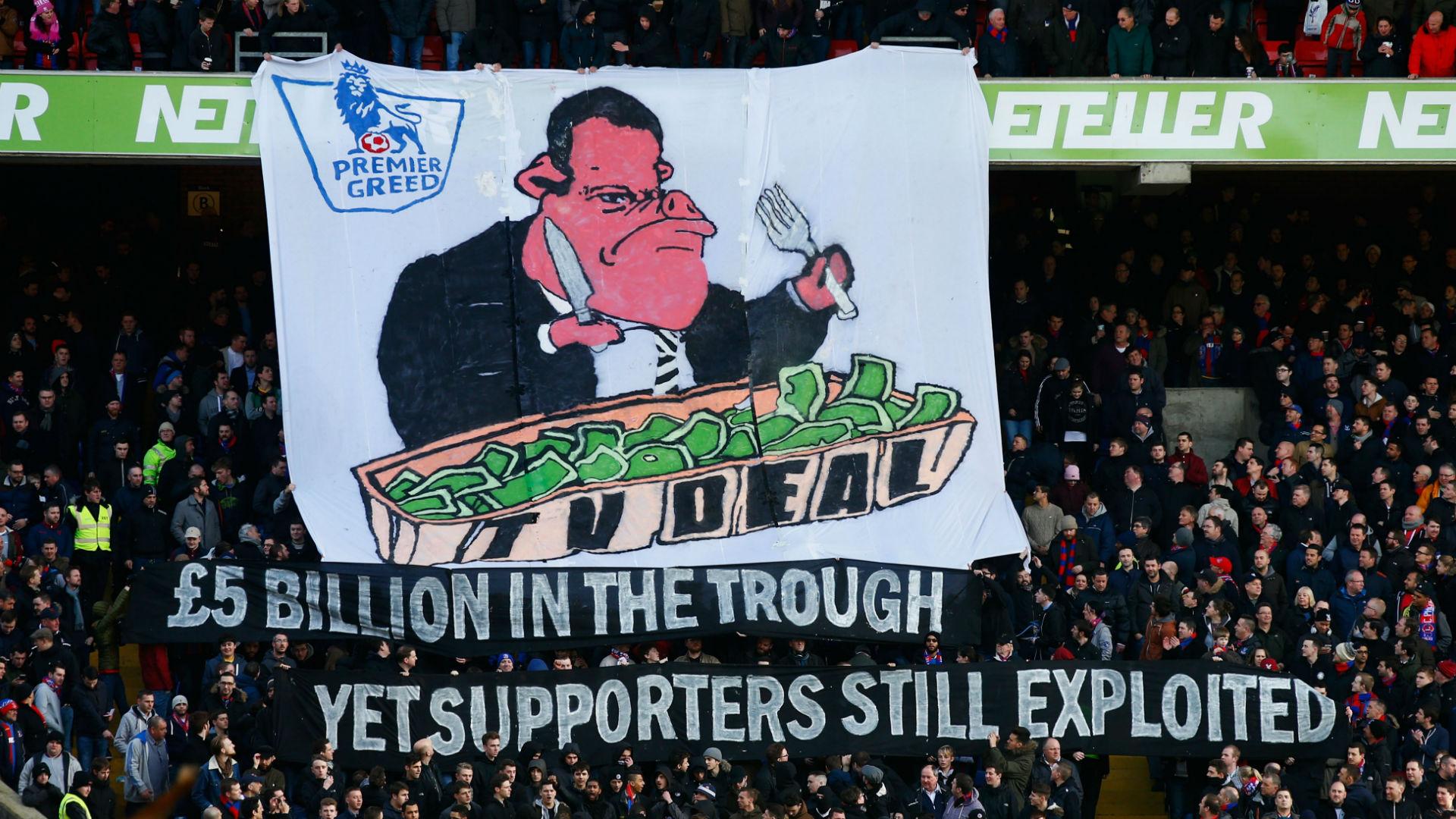 Crystal Palace Premier League TV Tifo