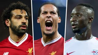 Mohamed Salah Virgil van Dijk Naby Keita composite