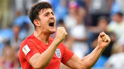 Harry Maguire England Sweden World Cup 2018