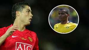 Cristiano Ronaldo Manuel Akanji Man Utd Dortmund