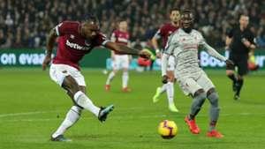 Michail Antonio West Ham United FC Liverpool 04022019
