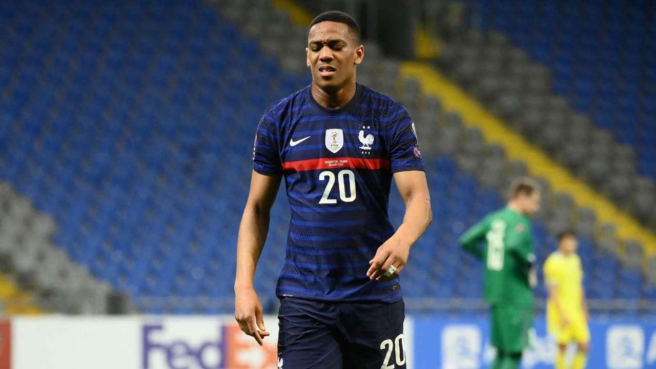 Anthony Martial Kazakhstan vs France 2022 World Cup qualifier