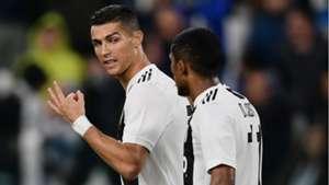 Cristiano Ronaldo Douglas Costa Juventus Cagliari Serie A 03112018