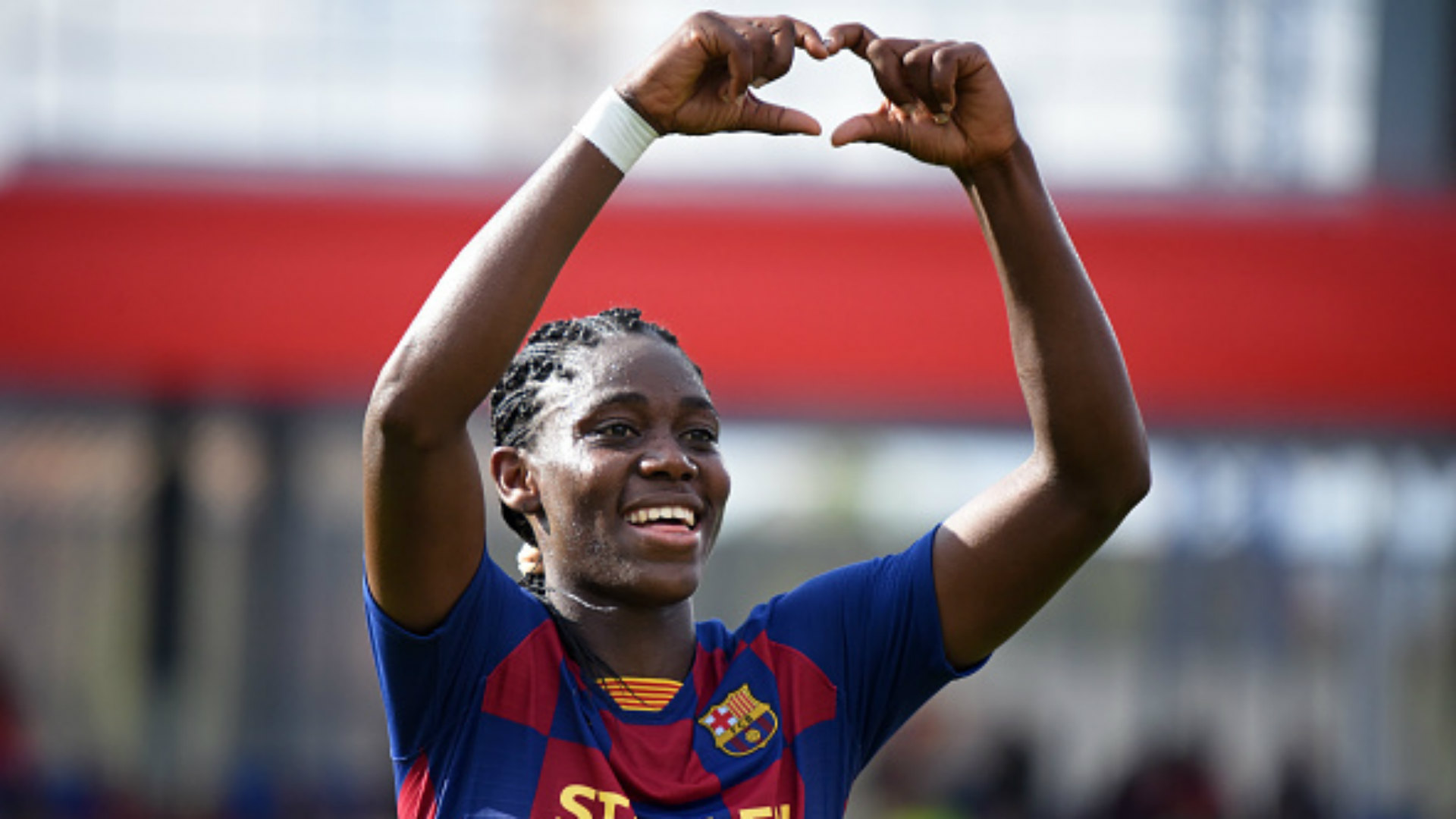 'She is still very young' - Oshoala deepens Enganamouit's retirement confusion