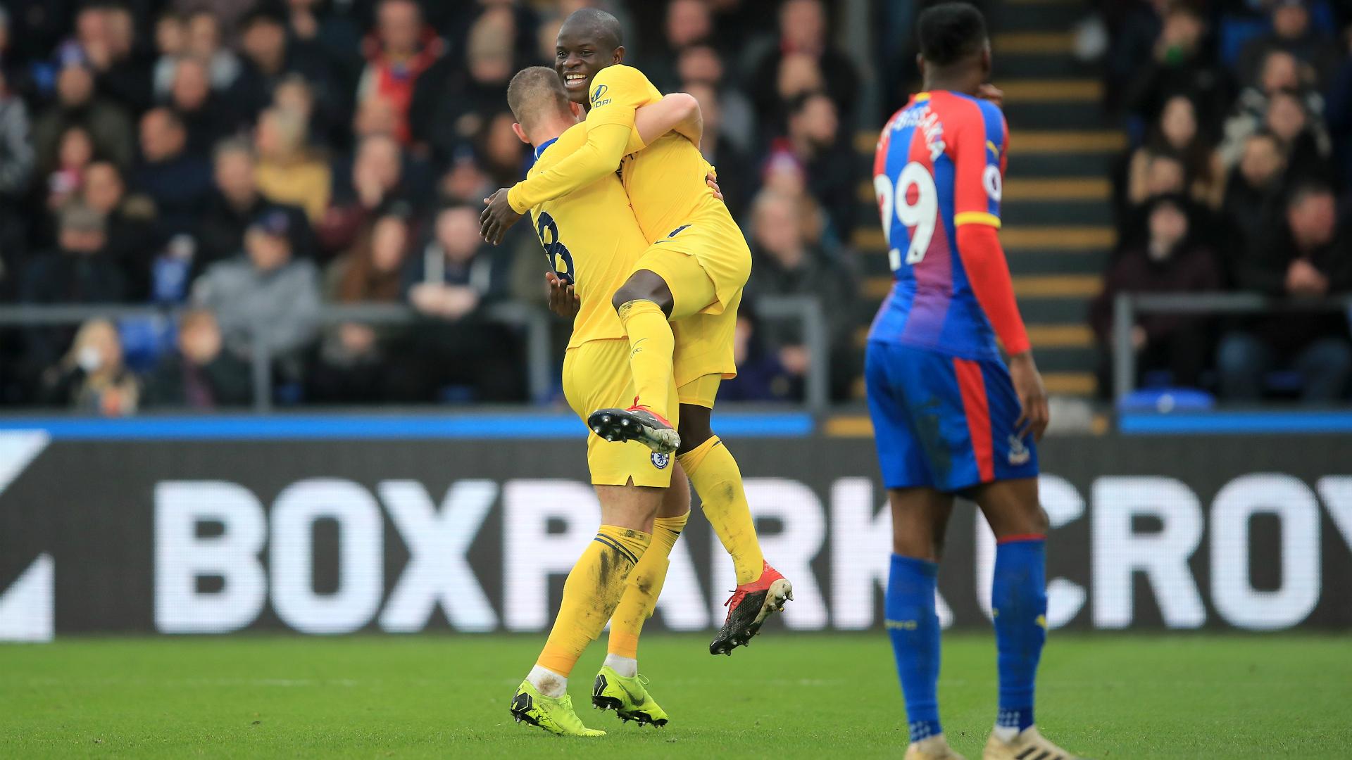 N'Golo Kante Crystal Palace - Chelsea Premier League 12302018