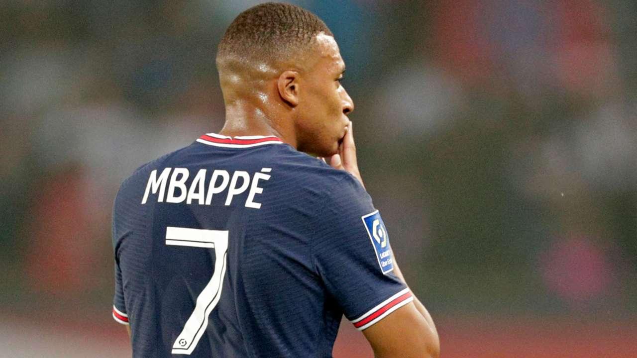 Kylian Mbappe PSG 2021-22