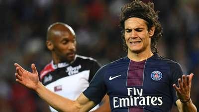 Edinson Cavani PSG Guingamp Ligue 1 09042017