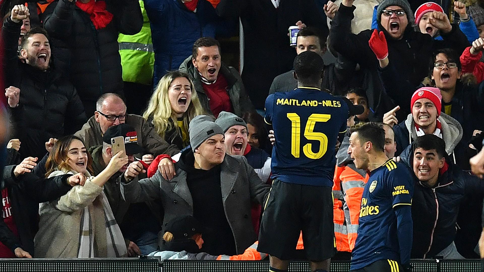 Mesut Ozil Arsenal 2019/20