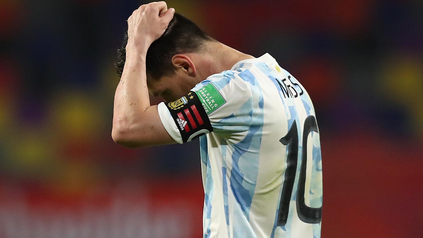 LIVE: Argentina vs Chile