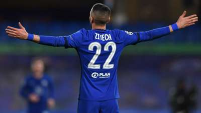 Hakim Ziyech Chelsea Champions League 17032021