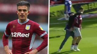 Jack Grealish Aston Villa punch