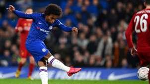 Willian, Chelsea vs Liverpool, FA Cup