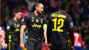 Giorgio Chiellini Atletico Madrid Juventus Champions League