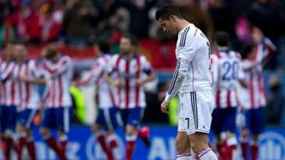 Cristiano Ronaldo Real Madrid Atletico La Liga 2015