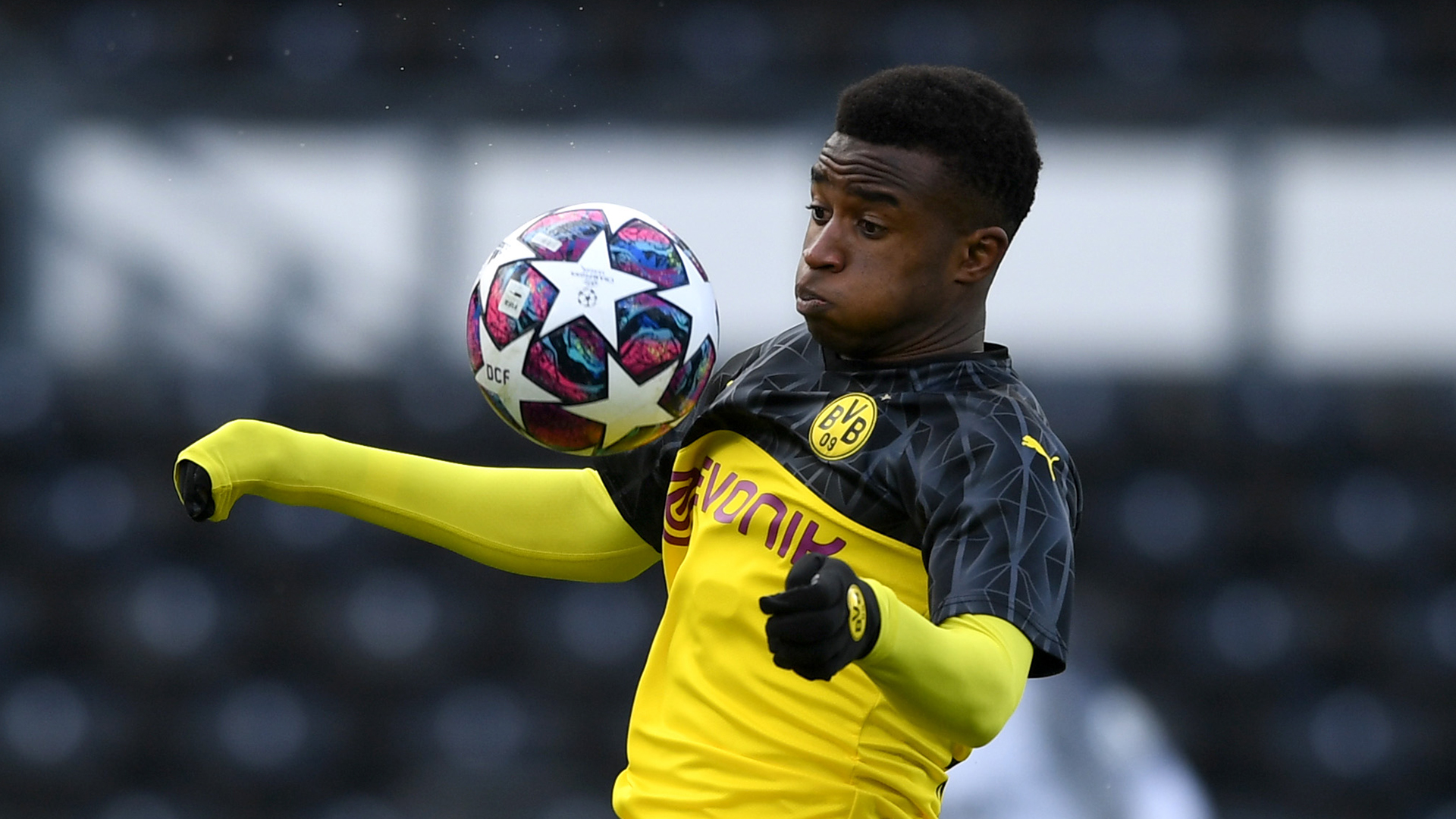Moukoko reveals Borussia Dortmund first team players support