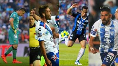Collage Contra XI J14 Liga MX Mexico Clausura 2017
