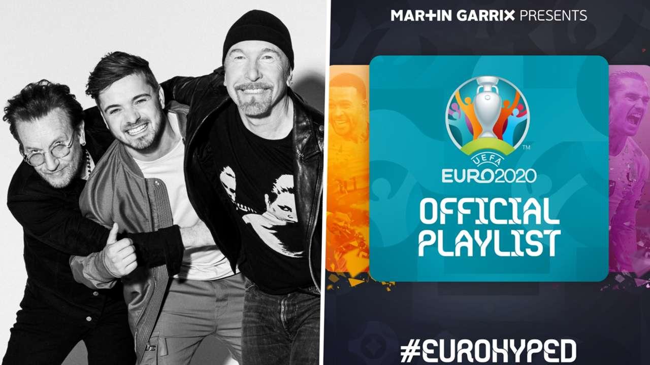Euro 2020 official song Bono The Edge Martin Garrix