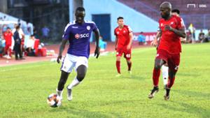 Papa Ibou Kebe Hai Phong vs Ha Noi V.League 2019