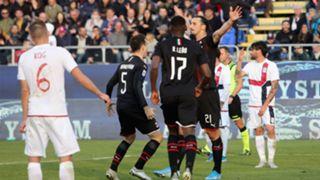 Zlatan Ibrahimovic Cagliari Milan