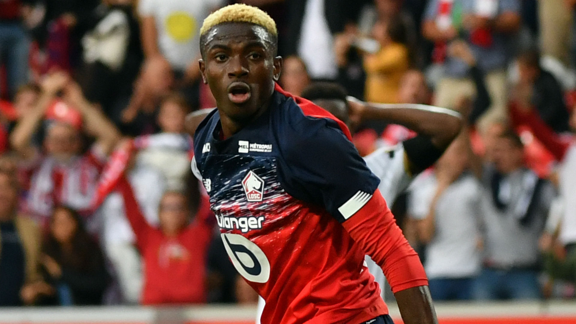 Osimhen: Barcelona and Real Madrid target could leave Lille next year