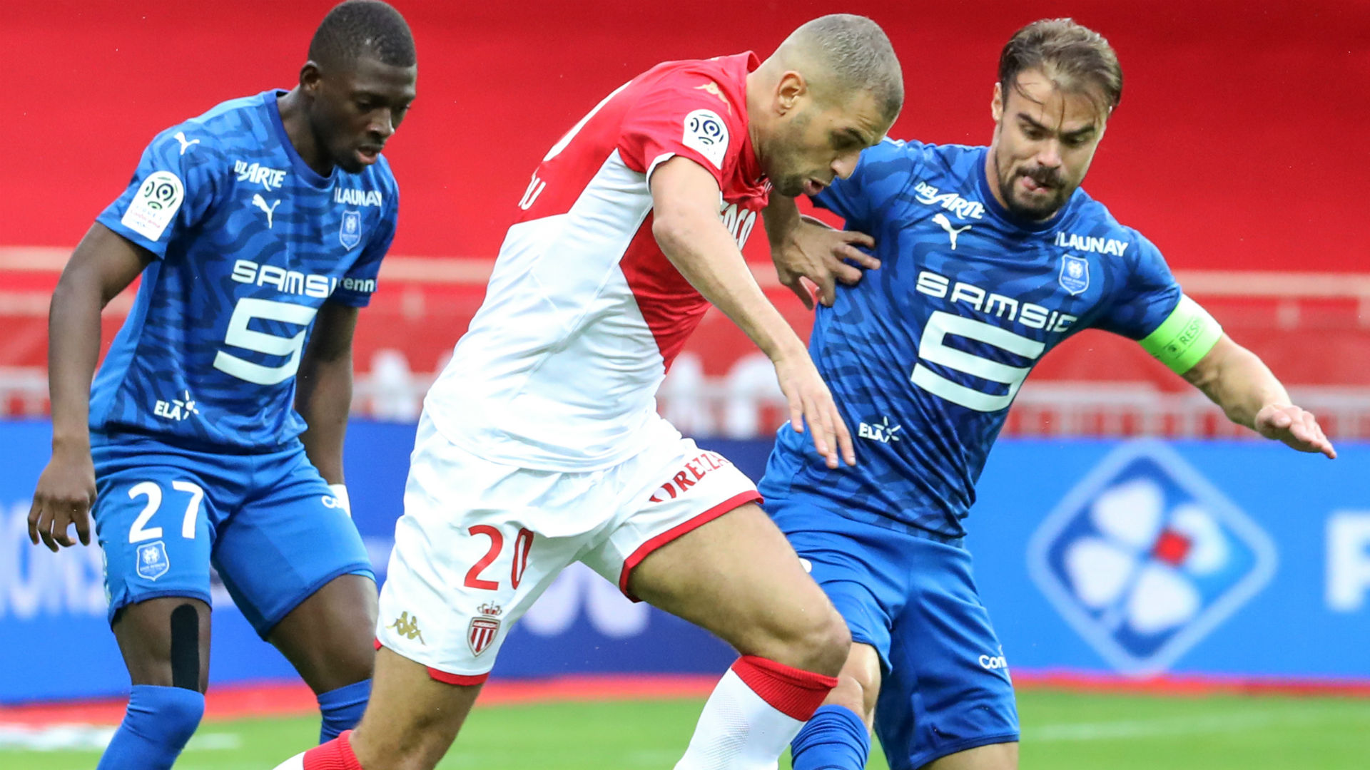 Islam Slimani Monaco Ligue 1 20102019