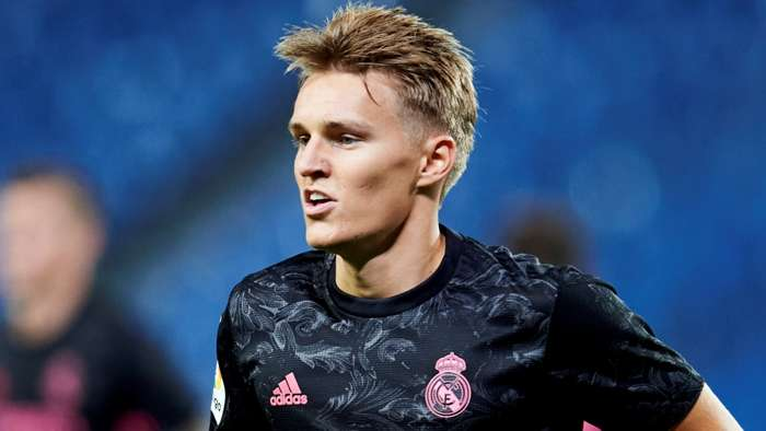 Martin Odegaard, Real Madrid 2020-21
