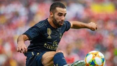 Dani Carvajal Real Madrid Arsenal ICC 2019